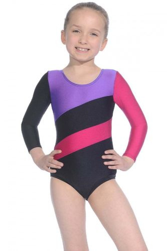 Roch Valley Gymnastics Leotard Long Sleeved Nylon/Lycra Dance Acro Hop